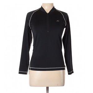 3/$20 Wacoal Women's Workout Track Jacket Sz Large